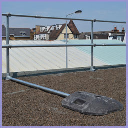 Freestanding Roof Edge Protection